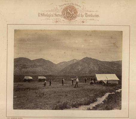 Hayden Survey by William Henry Jackson.