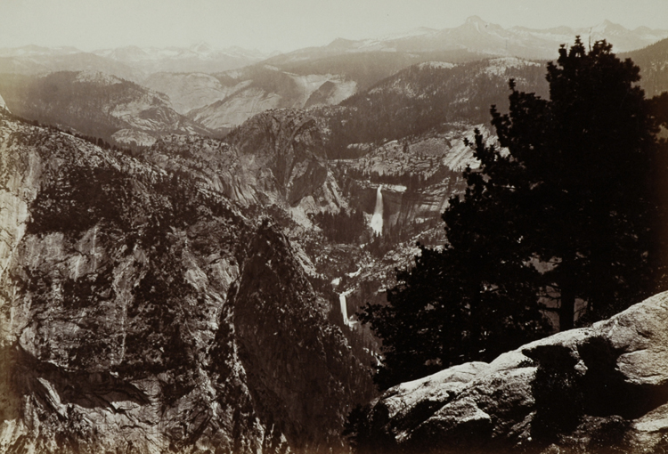 """YOSEMITE VALLEY FROM INSPIRATION POINT"" BY CARLETON WATKINS"