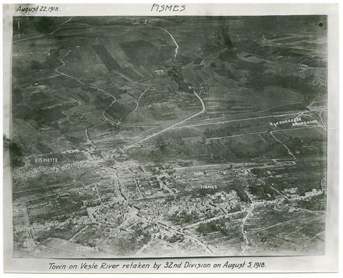 WWI AERIAL PHOTOGRAPHS 4