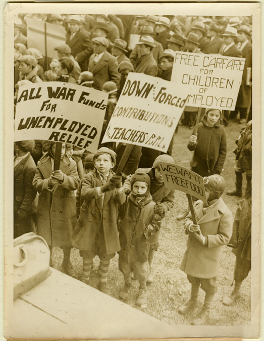 Young Communists in Philadelphia 1933 FRONT
